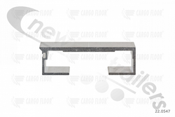 22.0547  Cargo Floor Plank 6mm x 112mm Smooth Single Seal with End Cap