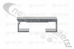 43.9440 Cargo Floor Plank 10mm x 97mm Smooth Single Seal No Seal or End Cap 13300mm Pre 2001