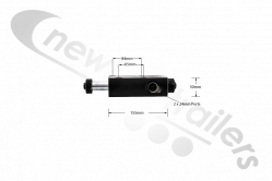 7170004 Cargo Floor CF300 Operation Valve / Changeover Valve For Combination Valve B Control