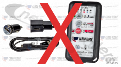 6104025 Cargo Floor Wireless remote control (CF TX) 3-functions